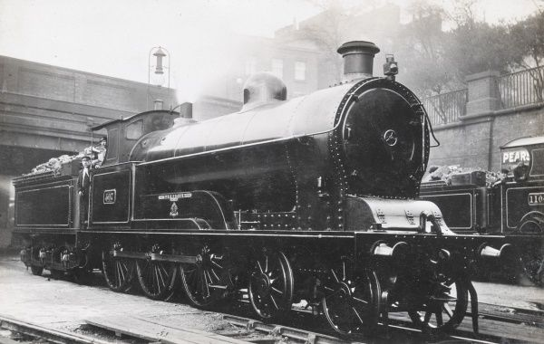 Locomotive no 507 'Sarmation' built for the L&NWR in 1905 Date: 1905