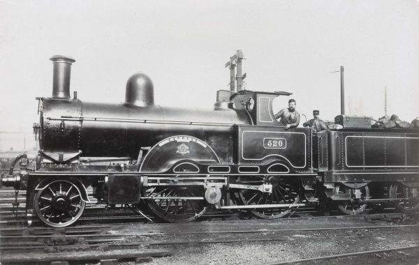Locomotive no 520 'Express' built in 1883 for the L&NWR Date: 1883