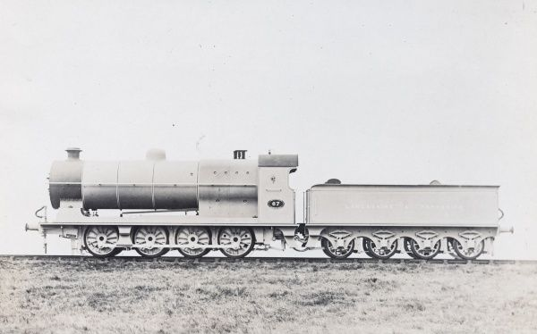 Locomotive no 67 8 coupled engine Date
