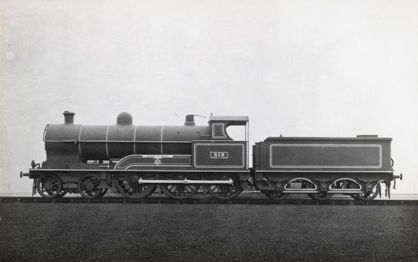Locomotive no 819 'Prince of Wales' built in 1911 for the L&NWR Date: 1911