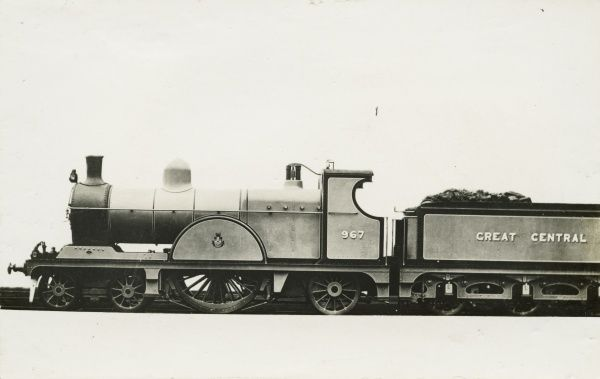 Locomotive no 967 4-2-2 engine Date