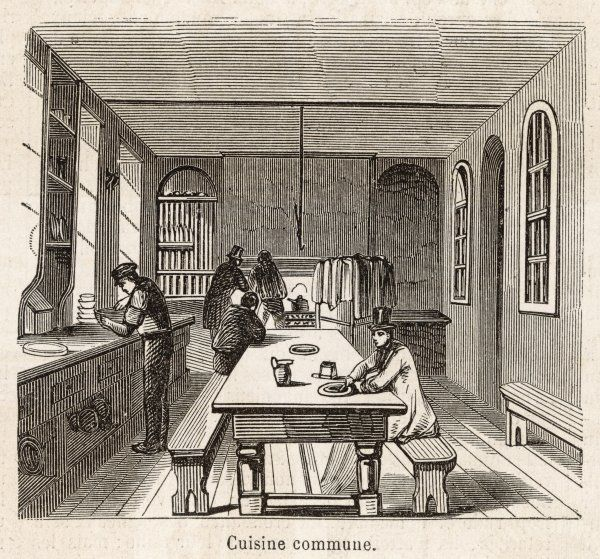 London : the kitchen of a model lodging house