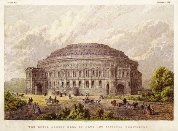 The Royal Albert hall, south Kensington