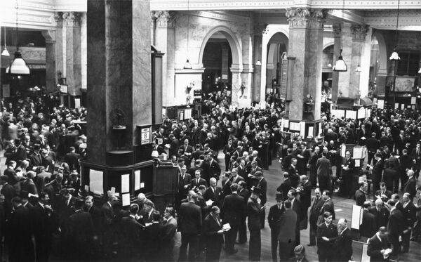 London Stock Exchange, Throgmorton Street - The Trading Floor