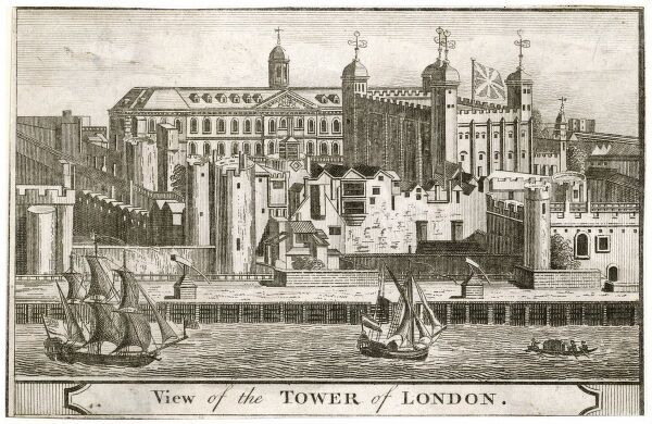 18th century perspective of the Tower