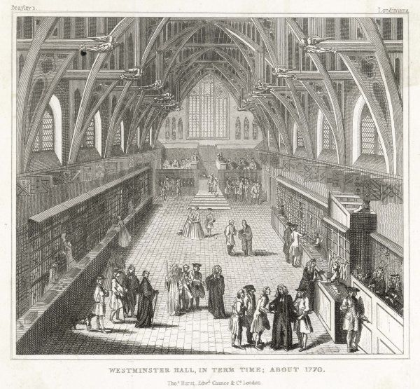 Westminster Hall in term time