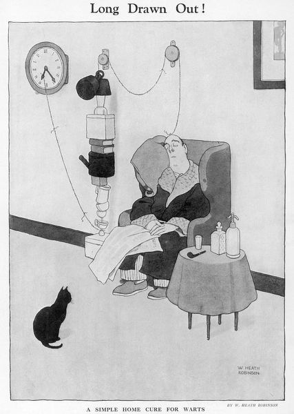 Prints Of Long Drawn Out By William Heath Robinson 4454295