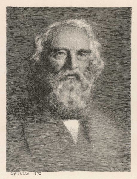 HENRY WADSWORTH LONGFELLOW American writer, best known for his 'Hiawatha' and for the line 'ships that pass in the night&#39