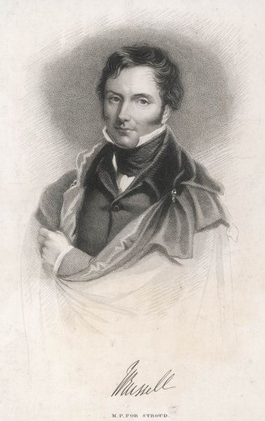 LORD JOHN RUSSELL 1st EARL RUSSELL British Liberal politician in 1838 when MP for Stroud