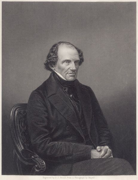 LORD JOHN RUSSELL 1st EARL RUSSELL British Liberal MP in middle age