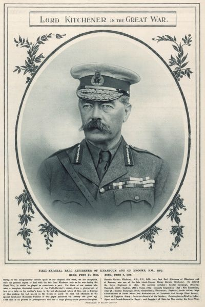 Lord Horatio Herbert Kitchener published shortly after his death