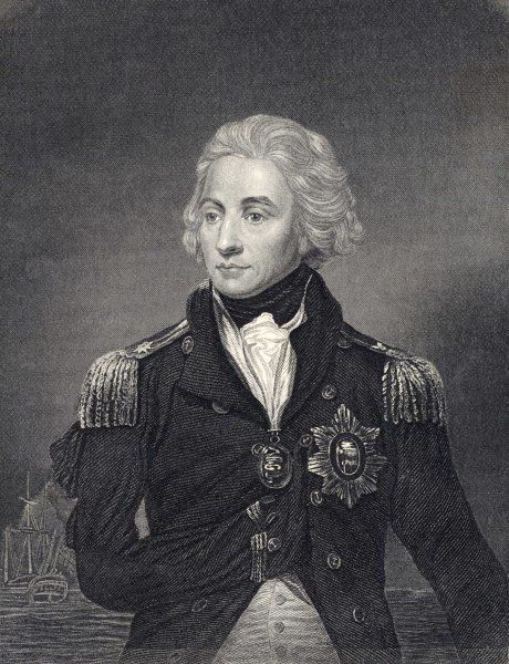 HORATIO, LORD NELSON British naval officer