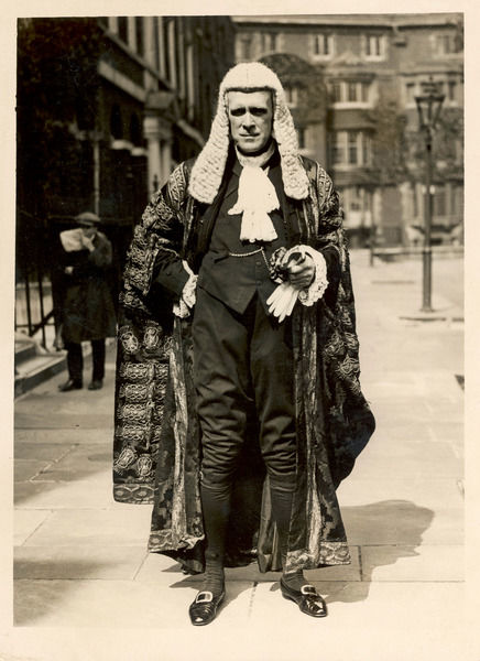 Lord John, 1st Viscount Sankey, Lord Chancellor during Ramsay Macdonald's Labour government. Famous for the 1927 'Persons' case, which asked 'Are Women Persons'?