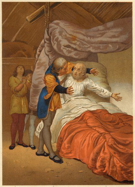 Columbus is found ill in his bed at La Isabela by his brother, Bartolome