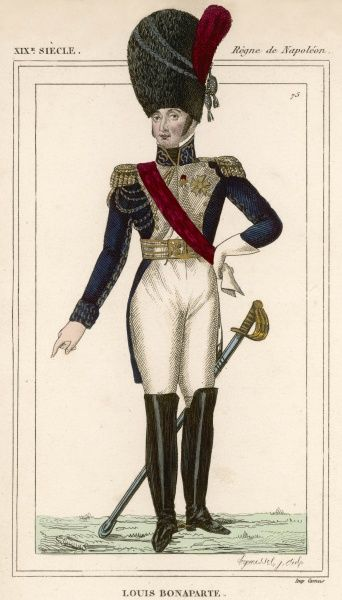 LOUIS BONAPARTE - Brother of Napoleon I - made King of Holland before abdicating in 1810