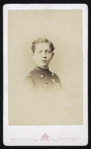 PRINCE LOUIS NAPOLEON 'PRINCE IMPERIAL' as a young boy
