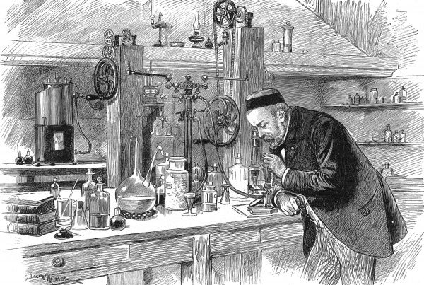 Born in 1822, he studied chemistry under Delafosse