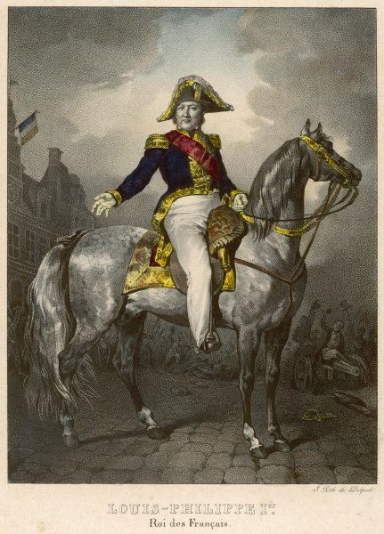 LOUIS-PHILIPPE King of the French, known as The Citizen King