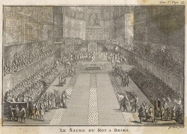 16-year old Louis XIV is consecrated at Reims