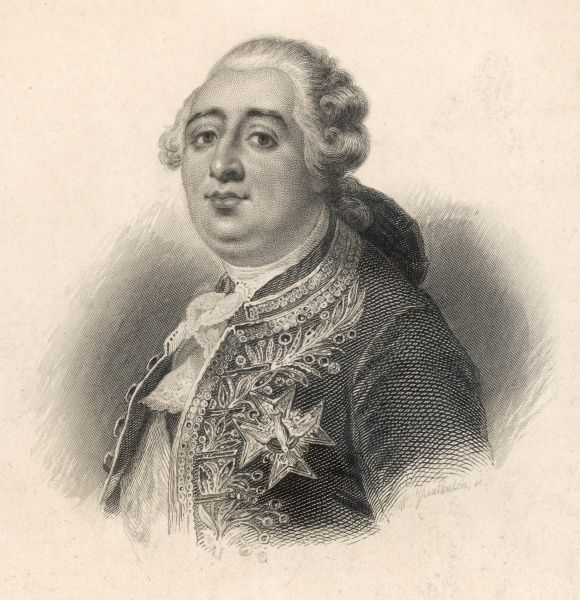 Louis XVI, King of France (1754-1793, reigned 1774-1792)