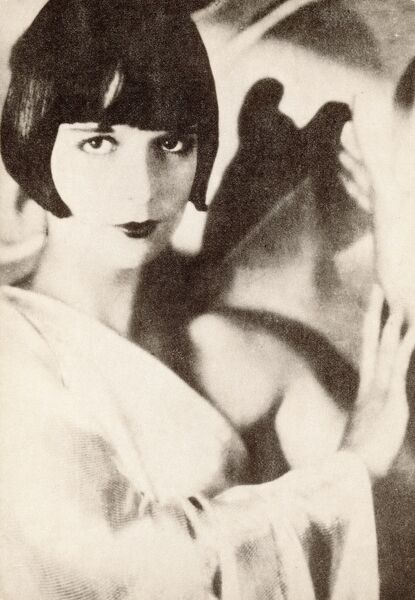 American silent film actress, LOUISE BROOKS (1906-1985)