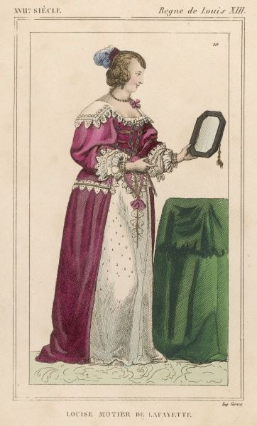 LOUISE MOTTIER DE LA FAYETTE French mistress of Louis XIII and reluctant confidante of Cardinal Richelieu