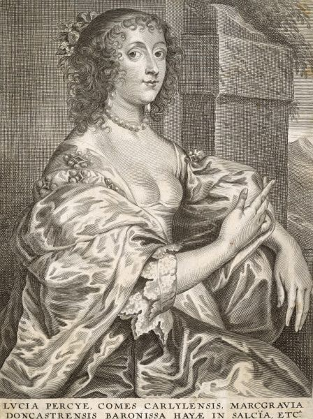 Lucy Percy, countess of CARLISLE second wife of James Hay, first earl of Carlisle ; political friend of Strafford and Pym Date: 1599 - 1660