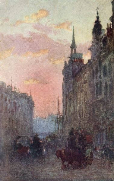 Ludgate Hill facing west