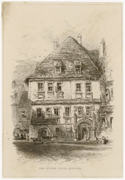 Luther's home at Eisenach