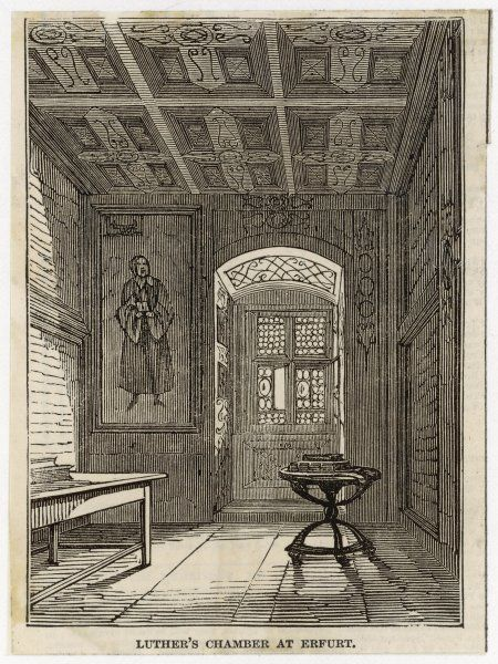 Luther's rooms at Erfurt