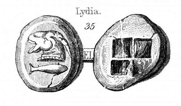 Lydian coins, the earliest known coins Date