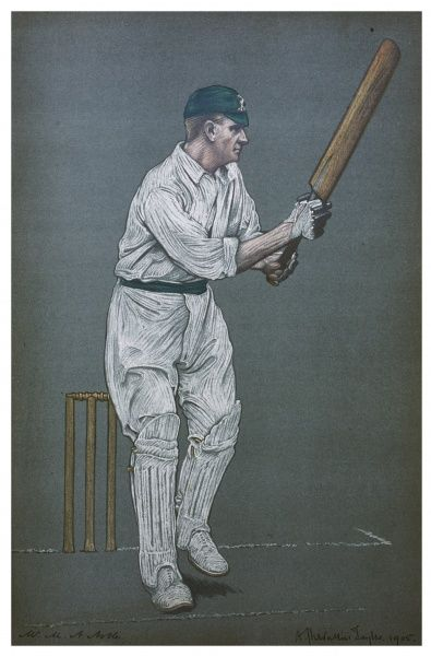 Montagu Alfred Noble - Australian cricketer. Captain of the Australia team which toured in 1905