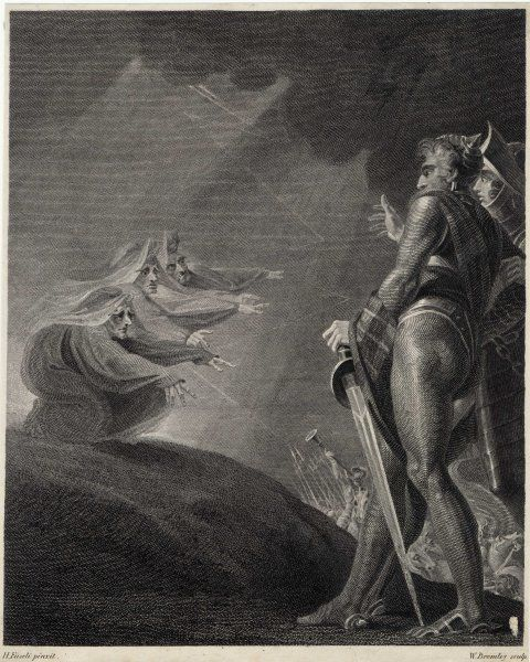 Act I, Scene III Macbeth & Banquo are taken aback by the appearance of the three witches