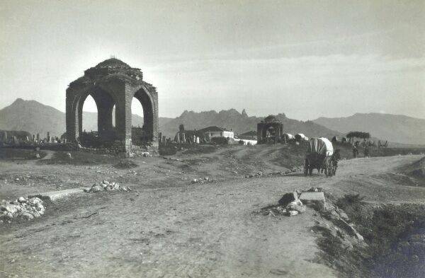 Macedonia - Ancient Ruins close to Prilep Date: circa 1910s