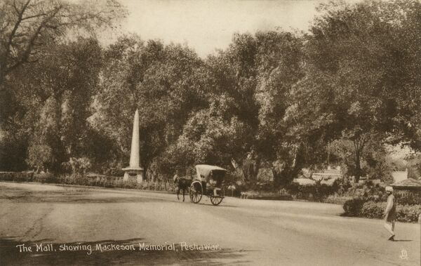 Mackeson Memorial, The Mall, Peshawar, North West Frontier Province