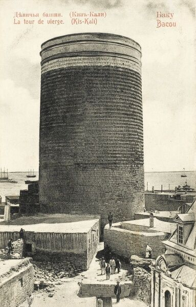 The Maiden Tower (Kis-Kali) at Baku, Azerbaijan