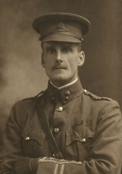 Major (Acting Lieutenant Colonel) Edward Anthony Steel, DSO (1880-1919), British army officer with the RHA (Royal Horse Artillery) and RFA (Royal Field Artillery) who served on the Western Front and in the Middle East and Russia during the First World War