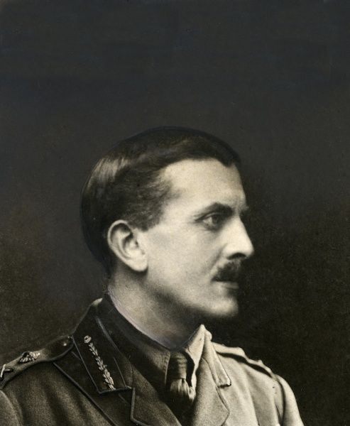 Major General A A Montgomery, British army officer during the First World War