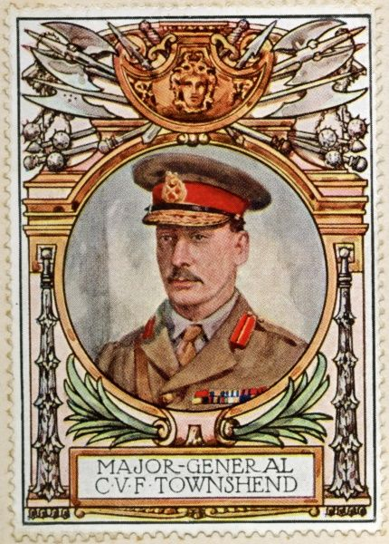 MAJOR GENERAL SIR CHARLES VERE FERRERS TOWNSHEND, British Indian Army officer