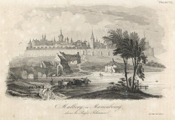 Formerly Marienburg, in East Prussia