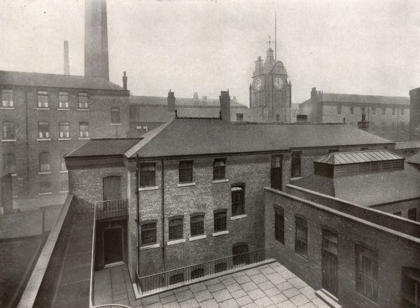 Casual wards for tramps and vagrants at Tame Street, Ancoates, Manchester