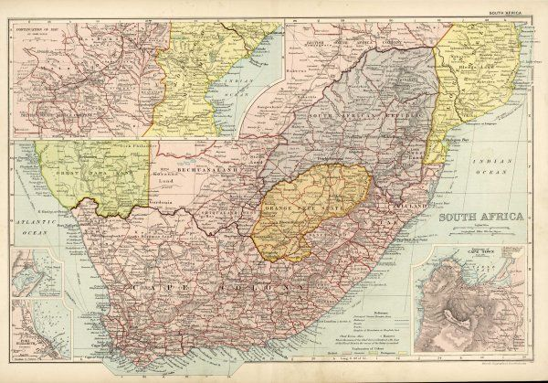 SOUTH AFRICA on the eve of the Boer War