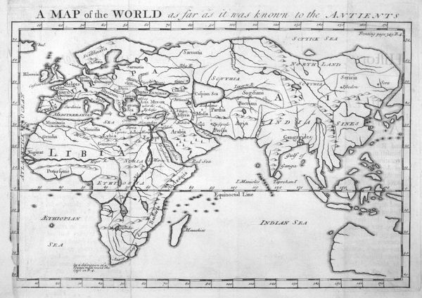 The world as known to Herodotus