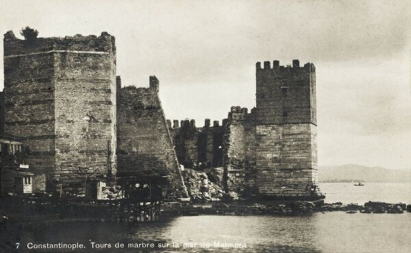 The Marble Tower - Constantinople on the Sea of Marmara