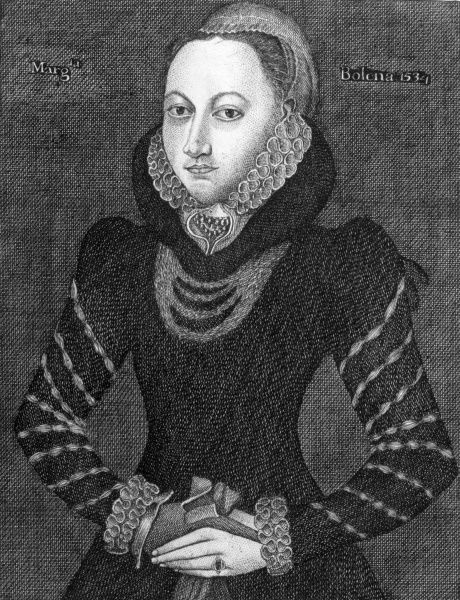 MARGARET BOLEYN Aunt of Anne Boleyn who married King Henry VIII Date