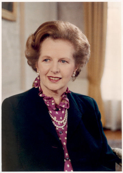 MARGARET THATCHER nee ROBERTS First woman to be British Prime Minister (Conservative) 1979-90
