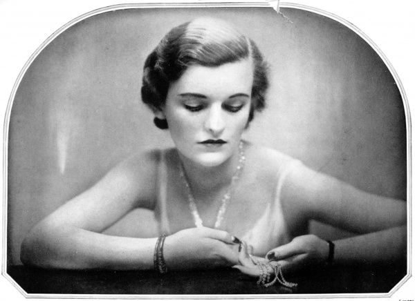 Photographic portrait of Margaret Whigham (1912-1993), Duchess of Argyll, pictured in 1931
