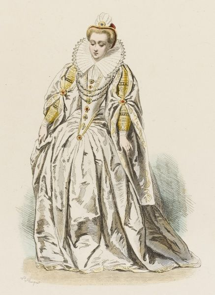 MARGUERITE DE LORRAINE, duchesse de la JOYEUSE lady of the French court, sister of the queen