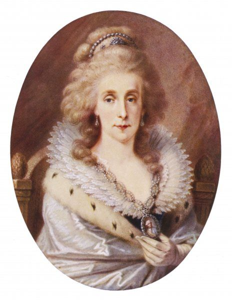 MARIA LOUISE Wife of Leopold II, Emperor of Austria (1790-2)
