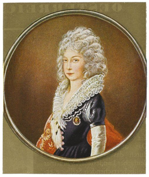 MARIA THERESIA Empress of Austria, Queen of Hungary and Bohemia, daughter of Emperor Carl VI, wife of Emperor Franz I, mother of Emperor Joseph II